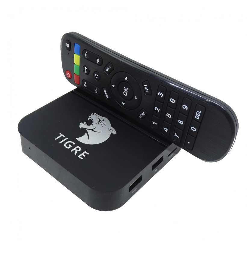 Receptor TV Box Tiger IPTV